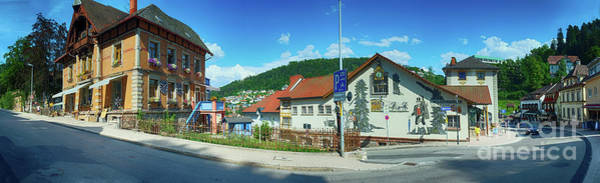 Photograph - part of main street of Triberg, German by Ariadna De Raadt