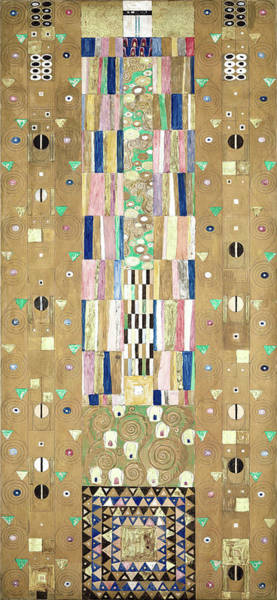 Wall Art - Painting - Part Of The Tree Of Life, Part 9 by Gustav Klimt