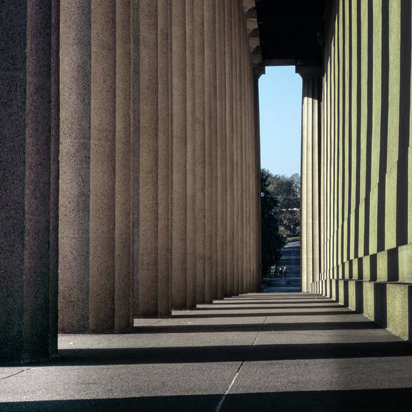 Photograph - Parthenon Shadow Tunnel by Samuel M Purvis III