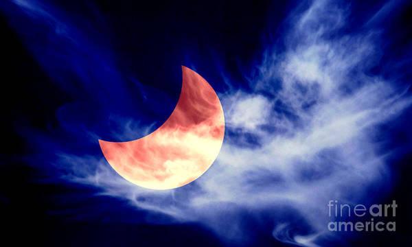 Photograph - Partial Eclipse by Pier Giorgio Mariani