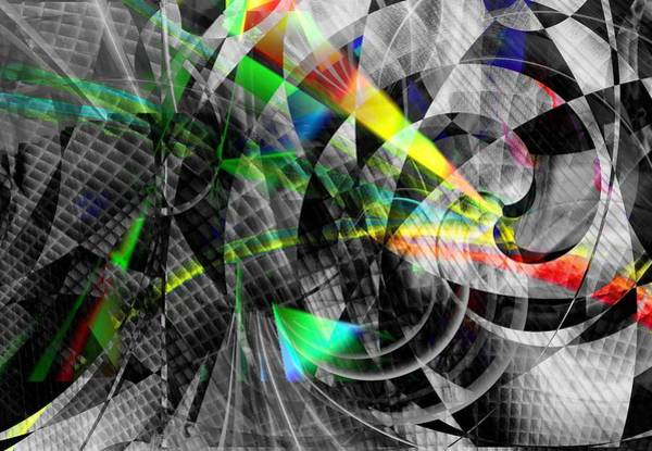 Digital Art - Particles Of Light Dancing by Art Di