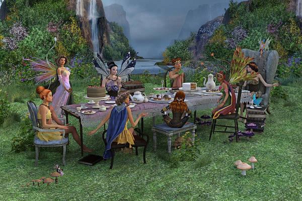Fairy Cake Wall Art - Digital Art - Particularities  by Betsy Knapp