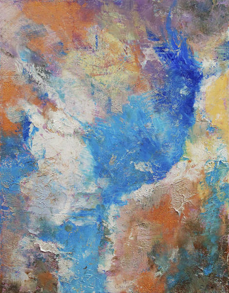 Wall Art - Painting - Parting Clouds by Michael Creese