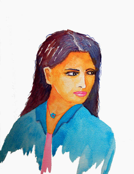 Bollywood Wall Art - Painting - Parting Is Grief by John Wolfersberger