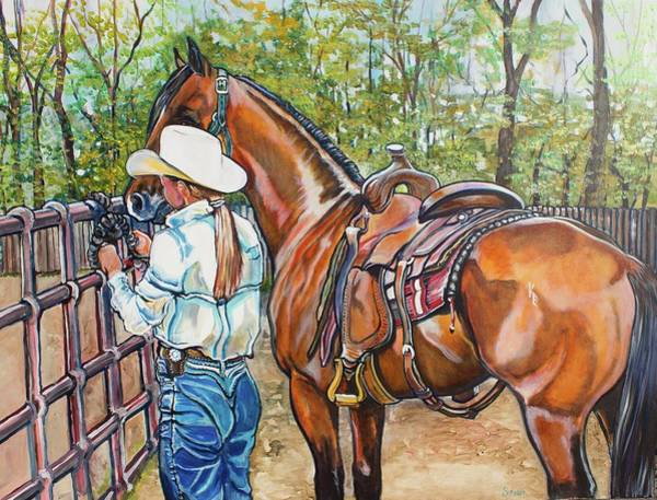 Painting - Partners by Stephanie Come-Ryker