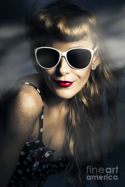 Photograph - Party Fashion Pin Up by Jorgo Photography - Wall Art Gallery