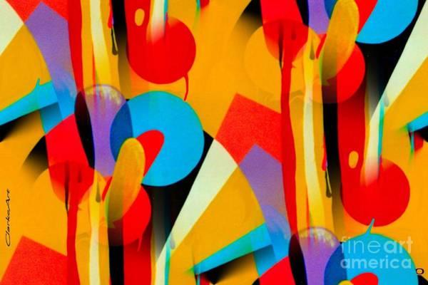Digital Art - Celebration by Jean Clarke