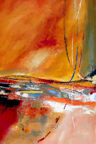 Gestural Painting - Party Lines by Ruth Palmer