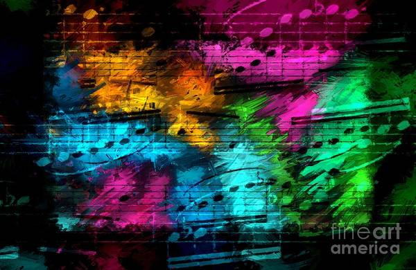 Digital Art - Party Partita by Lon Chaffin