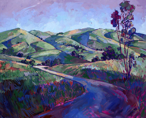 California Wine Country Painting - Paso Peace by Erin Hanson