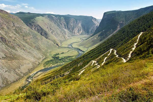 Photograph - Pass Katu-yaryk. Altai by Victor Kovchin