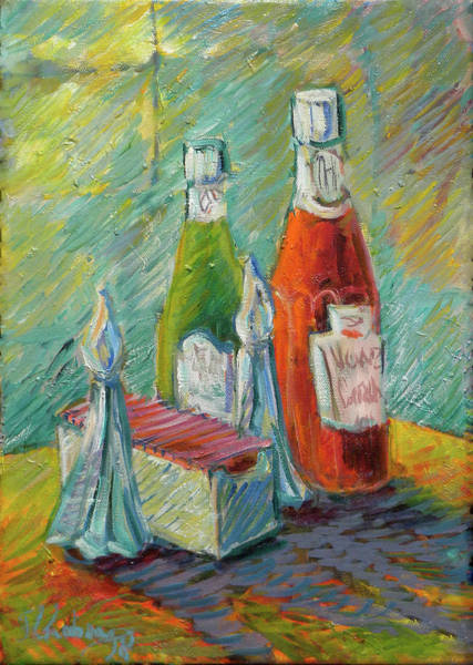 Catsup Painting - Pass The Catsup Please by Jean Groberg