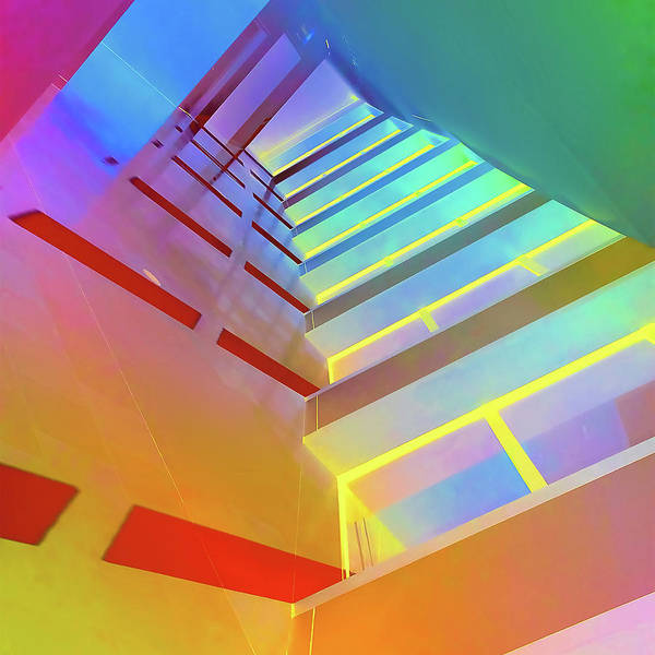 Wall Art - Digital Art - Passage Way by Julie Flanagan