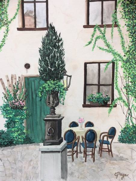 Painting - Passau by Emily Page