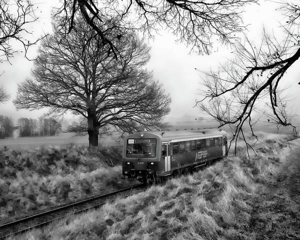 Photograph - Passenger Train Travel by Anthony Dezenzio