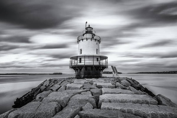 Photograph - Passing Clouds At Spring Point Ledge by Jesse MacDonald