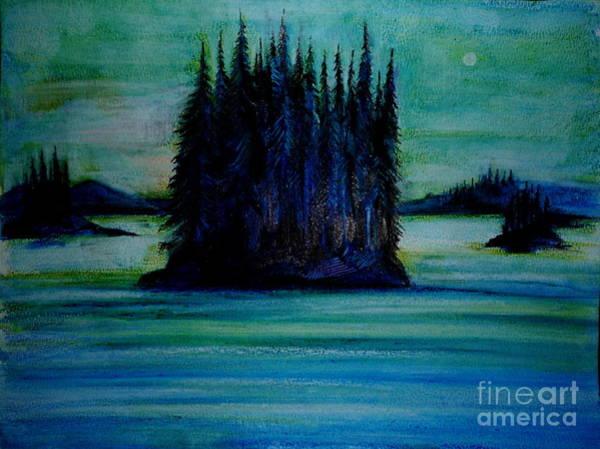 Passing Land Of British Columbia  Art Print by Anna  Duyunova
