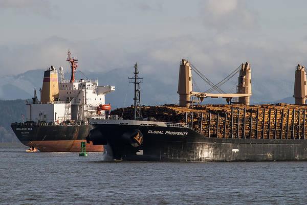 Photograph - Passing Ships by Robert Potts