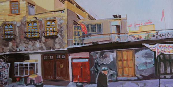 China Town Painting - Passing Through by Jordan Kroll