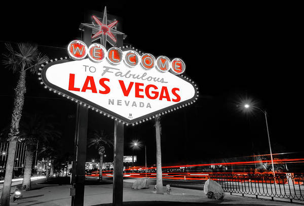 Photograph - Passing Through - Las Vegas Nevada by Gregory Ballos