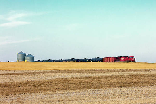 Train Car Photograph - Passing Through by Todd Klassy