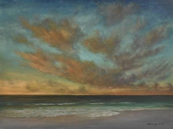 Painting - Passionate Sky By Alan Zawacki by Alan Zawacki