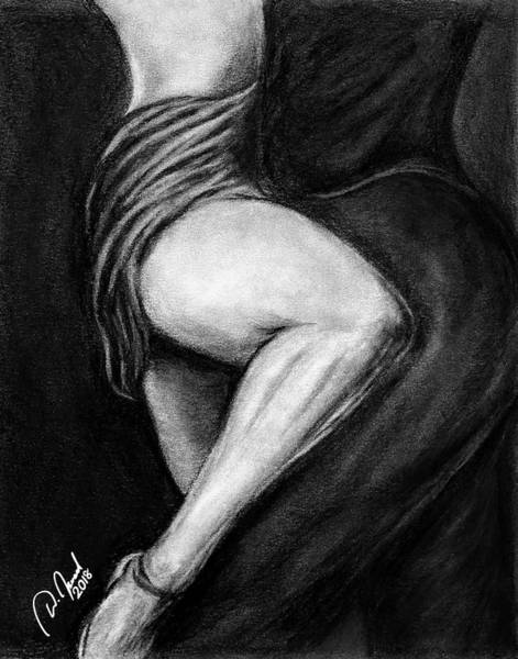 Tango Drawing - Passionate Tango Dancers by Walter Israel
