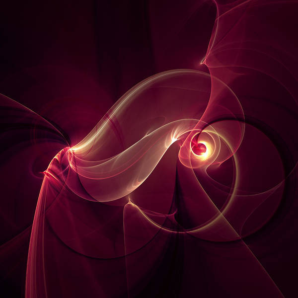 Passionate Digital Art - Passionate Temptation by Isabella Howard