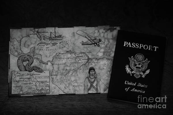 Photograph - Passport by Dale Powell