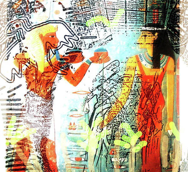 Mixed Media - Past And Present Dream by Paul Sutcliffe