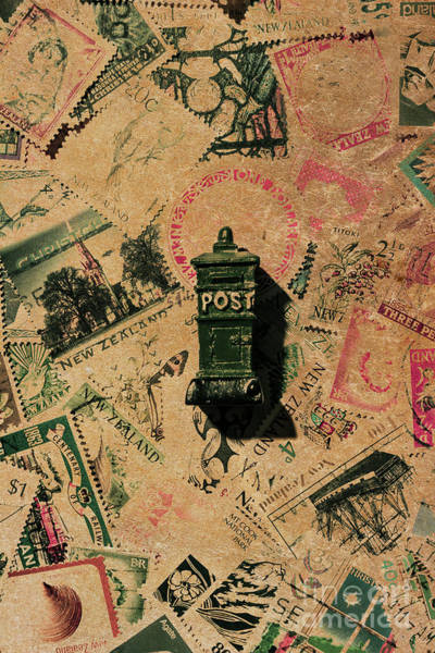 Stamp Collecting Photograph - Past Letters In Post by Jorgo Photography - Wall Art Gallery