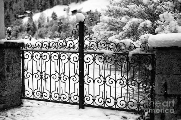 Photograph - Past The Snowy Gate by John Rizzuto