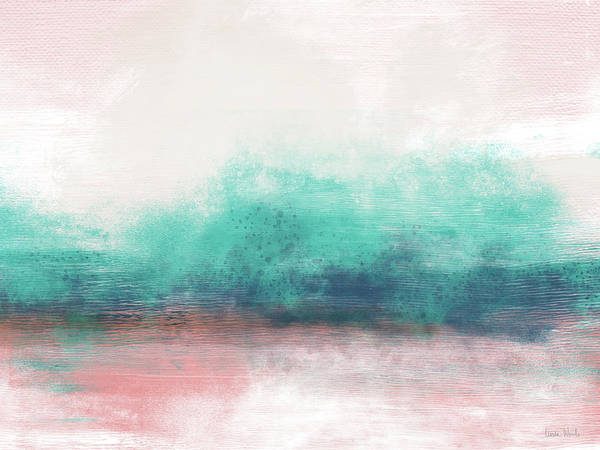 Wall Art - Painting - Pastel Coastal Escape-  Art By Linda Woods by Linda Woods