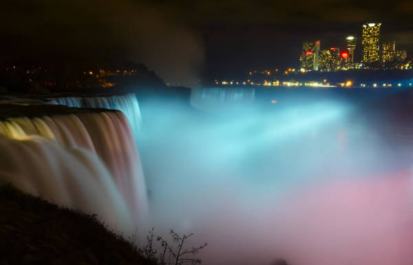 Niagara Falls State Park Photograph - Pastel Falls by Mark Papke