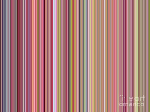 Photograph - Pastel Lines And Colors Abstract by Carol Groenen