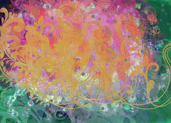 Emanate Painting - Pastel Painting by Don  Wright