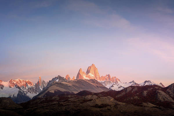 Patagonia Photograph - Pastel Patagonia by Daniel Cooley