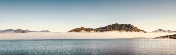 Dam Wall Art - Photograph - Pastel River Panorama by Jorgo Photography - Wall Art Gallery