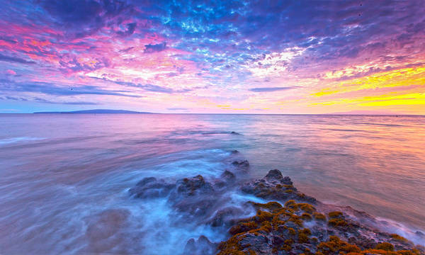 Kihei Photograph - Pastel Skies by James Roemmling