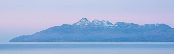 Photograph - Pastel Skies Over Rum by Stephen Taylor