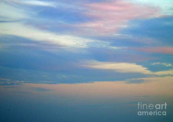 Photograph - Pastel Sky At Ponce Inlet Beach by D Hackett
