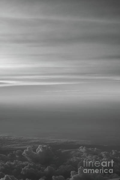 Delta Wing Photograph - Pastel Sky Bw  by Michael Ver Sprill
