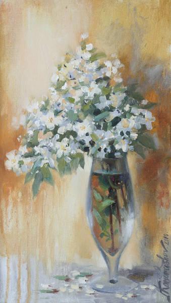Painting - Pastel Spring Bouquet by Ilya Kondrashov