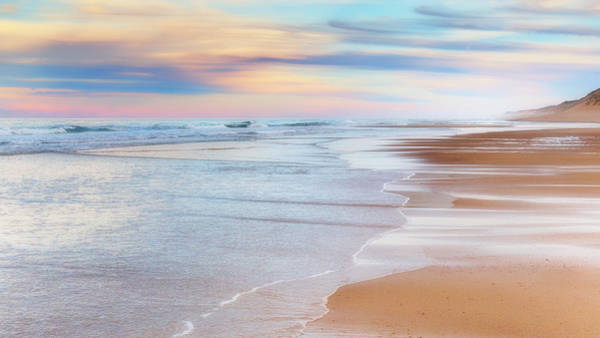 Wall Art - Photograph - Pastel Sunset Cape Cod by Bill Wakeley