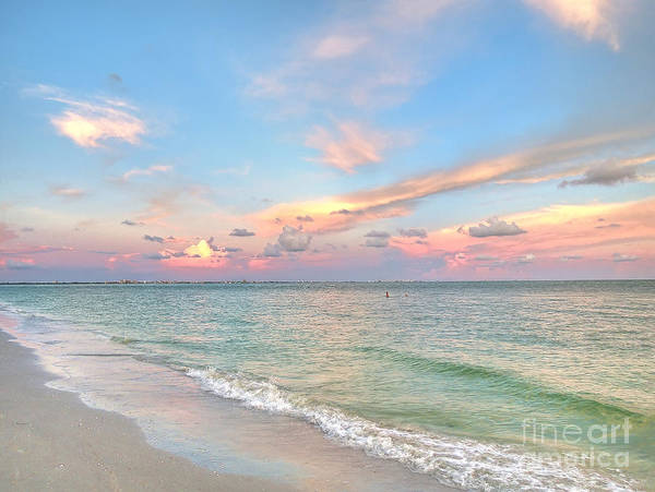 Photograph - Pastel Sunset On Sanibel Island by Jeff Breiman