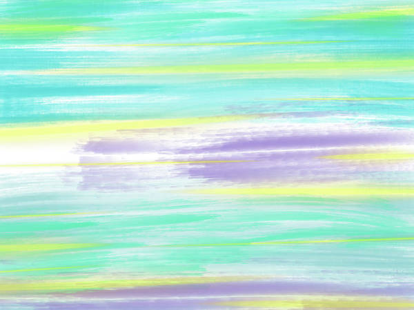 Blue Digital Art - Pastels by The King Gallery