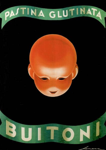 Product Mixed Media - Pastina Glutinata Buitoni - Food And Beverages - Vintage Advertising Poster by Studio Grafiikka