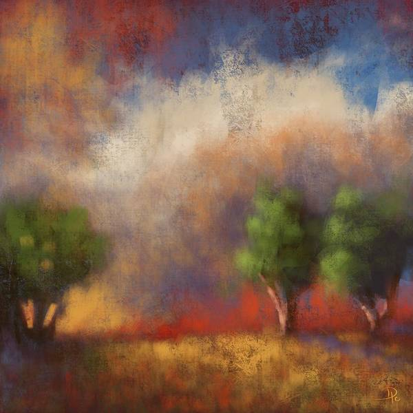 Wall Art - Digital Art - Pastoral Bliss by David G Paul