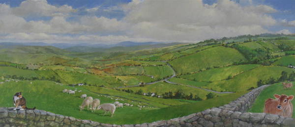 Painting - Pastoral  by Cliff Spohn