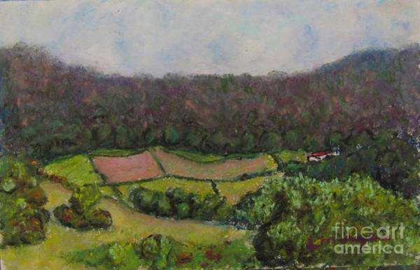 Painting - Pastoral Patches by Laurie Morgan